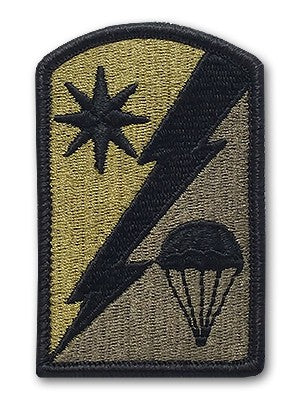 US Army 82nd Sustainment Brigade OCP Patch with Hook Fastener (pair) - Sta-Brite Insignia INC.