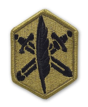 US Army 85th Civil Affairs OCP Patch with Hook Fastener (pair) - Sta-Brite Insignia INC.