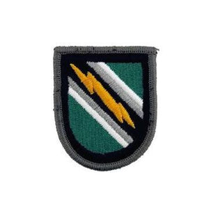 US Army 8th Psychological Operations Group Flash - Sta-Brite Insignia INC.