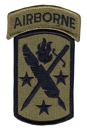 US Army 95th Civil Affairs And Airborne Tab OCP Patch with Hook Fastener (pair) - Sta-Brite Insignia INC.
