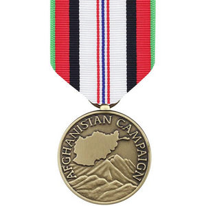 US Army Afghanistan Campaign Large Medal - Sta-Brite Insignia INC.
