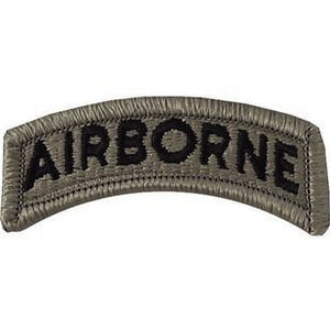 US Army Airborn ACU Tab with Hook Fastener (pair) - Sta-Brite Insignia INC.