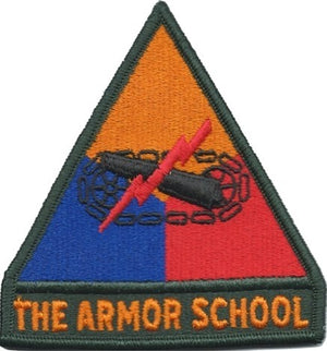US Army Armor School Color Sew-on Patch - Sta-Brite Insignia INC.