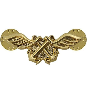 US Navy Aviation boatswain Collar Device - Sta-Brite Insignia INC.