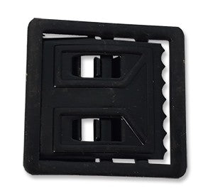 BLACK OPEN FACE BUCKLE - Sta-Brite Insignia INC.