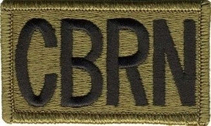 US Army CBRN OCP Patch with Hook Fastener (pair) - Sta-Brite Insignia INC.