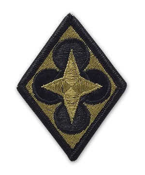 US Army Combined Arms Support Command (CASCOM) OCP Patch with Hook Fastener (pair) - Sta-Brite Insignia INC.