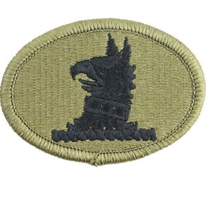 US Army Delaware National Guard OCP Patch with Hook Fastener (pair) - Sta-Brite Insignia INC.