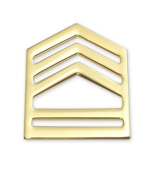 E7 ROTC SFC STA-BRITE® Rank Pin-on - Sta-Brite Insignia INC.