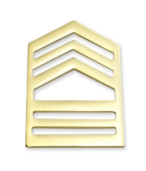 E8-1 ROTC Master Sergeant STA-BRITE® Rank Pin-on - Sta-Brite Insignia INC.