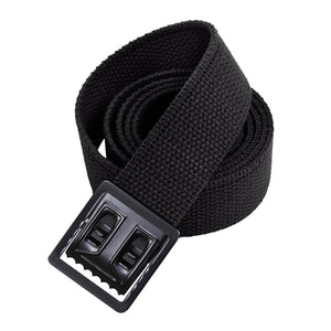 Elastic Belt with Black Open Face Buckle and Tip - Sta-Brite Insignia INC.