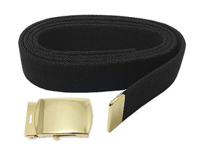 US Army Male Elastic Belt and STA-BRITE® Buckle and Tip - Sta-Brite Insignia INC.