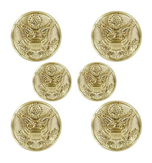 US Army Female STA-BRITE® Button Set - Sta-Brite Insignia INC.