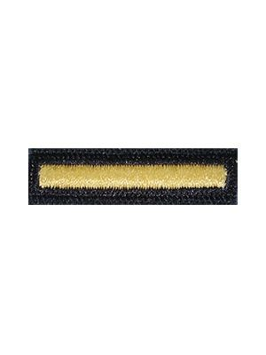 US Army Gold on Blue Female Overseas Bar - Sta-Brite Insignia INC.