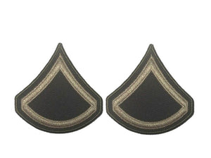 AGSU U.S. Army E3 Private First Class Chevron Sew on rank Male