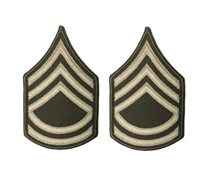 AGSU U.S. Army E7 Sergeant First Class Chevron Sew On Rank Male