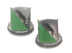 US Army 69th Armor Regiment Unit Crest (Pair)