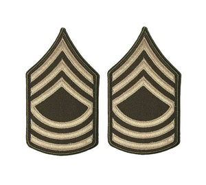 AGSU U.S. Army E8 Master Sergeant Chevron Sew On Rank Male