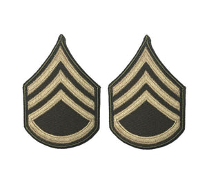 AGSU U.S. Army E6 Staff Sergeant Chevron Sew on Rank Male