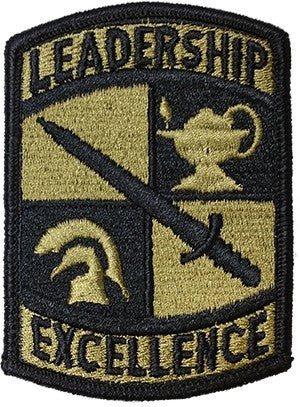 US Army ROTC Leadership Excellence OCP w/with Hook Fastener - Sta-Brite Insignia INC.