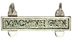US Army Machine Gun STA-BRITE® Qualification Bar - Sta-Brite Insignia INC.