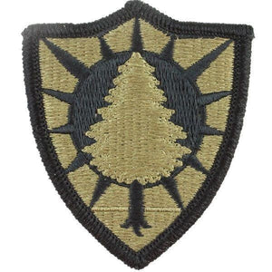 US Army Maine National Guard OCP Patch with Hook Fastener (pair) - Sta-Brite Insignia INC.