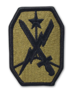 US Army Maneuver Support Center Of Excellence (MSCOE) OCP Patch with Hook Fastener (pair) - Sta-Brite Insignia INC.