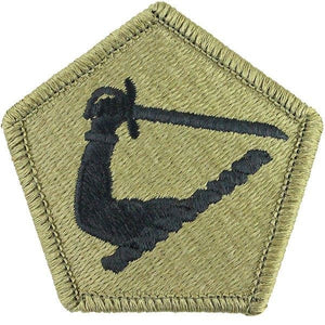 US Army Massachussets National Guard OCP Patch with Hook Fastener (pair) - Sta-Brite Insignia INC.