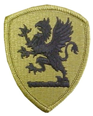 US Army Michigan National Guard OCP Patch with Hook Fastener (pair) - Sta-Brite Insignia INC.