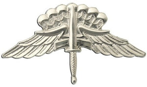 US Army Military Free Fall Parachutist (Halo) Basic STA-BRITE® Pin-on Badge - Sta-Brite Insignia INC.