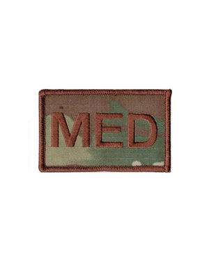 US Air Force Medical MED Fully Emroidered Brassard With Hook Fastener - Sta-Brite Insignia INC.
