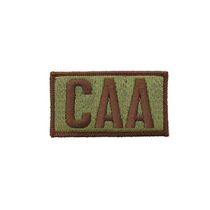 US Air Force CAA OCP Brassard with Spice Brown Border and Hook Fastener - Sta-Brite Insignia INC.