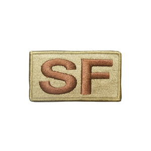 US Air Force Special Forces SF Fully Emroidered OCP Spice Brown Brassard With Hook Fastener - Sta-Brite Insignia INC.