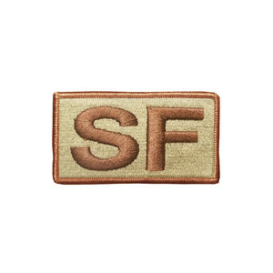 US Air Force Special Forces SF OCP Brassard with Spice Brown Border and Hook Fastener - Sta-Brite Insignia INC.