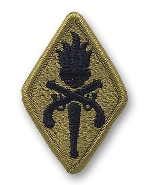 US Army Military Police School OCP Patch with Hook Fastener (pair) - Sta-Brite Insignia INC.