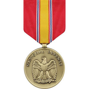 US Army National Defense Large Medal - Sta-Brite Insignia INC.