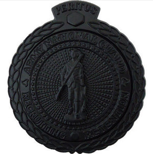 US Army National Guard Recruiting Retention STA-BRITE® BLACK Metal Master Badge - Sta-Brite Insignia INC.