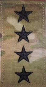 US Army O10 General OCP with Hook Fastener - Sta-Brite Insignia INC.