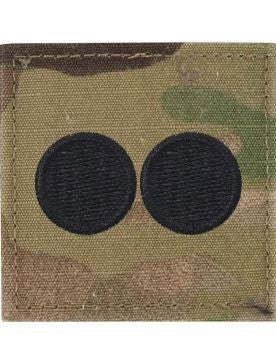 O2 ROTC 1st Lt. OCP Rank with Hook Fastener - Sta-Brite Insignia INC.