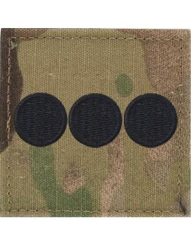 O3 ROTC Captain OCP Rank with Hook Fastener - Sta-Brite Insignia INC.