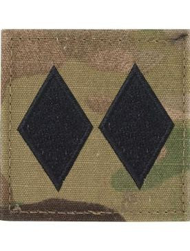 O5 ROTC Lt. Colonel OCP Rank with Hook Fastener - Sta-Brite Insignia INC.
