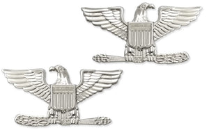 US Air Force O6 Colonel STA-BRITE® Pin-on Rank - Sta-Brite Insignia INC.