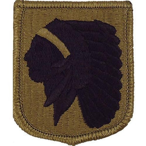 US Army Oklahoma National Guard OCP Patch with Hook Fastener (pair) - Sta-Brite Insignia INC.