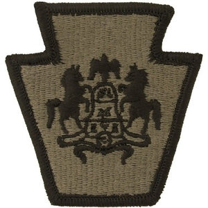US Army Pennsylvania National Guard OCP Patch with Hook Fastener (pair) - Sta-Brite Insignia INC.