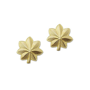 "Police Major Gold Rank Pin 1"" Pair - Sta-Brite Insignia INC."