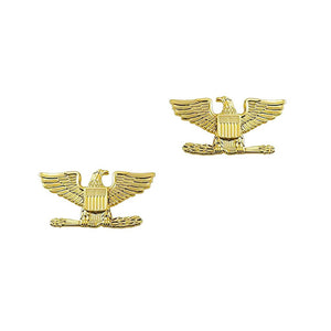 "Police Colonel Gold Rank Pin 1.5"" Pair - Sta-Brite Insignia INC."