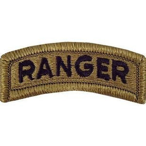 US Army Ranger OCP Tab with Hook Fastener (pair) - Sta-Brite Insignia INC.