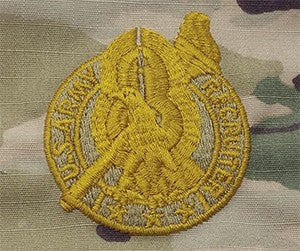 US Army Recruiting / Recruiter Senior OCP Sew-on Badge - Sta-Brite Insignia INC.