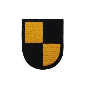 US Army ROTC Yellow/Black Flash - Sta-Brite Insignia INC.