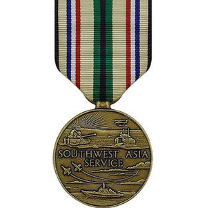 US Army Southwest Asia Service Large Medal - Sta-Brite Insignia INC.